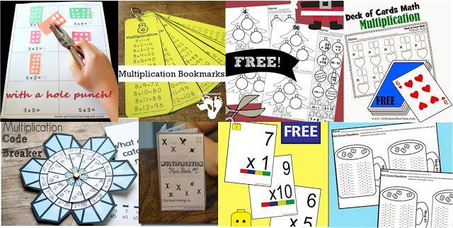 free printable multiplication worksheets for kids