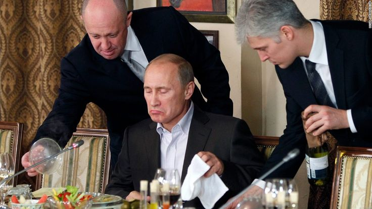 """Yevgeny Prigozhin is a Russian oligarch dubbed """"chef"""" to President Vladimir Putin by the Russian press. In 2002, he served caviar and truffles to President Bush."""