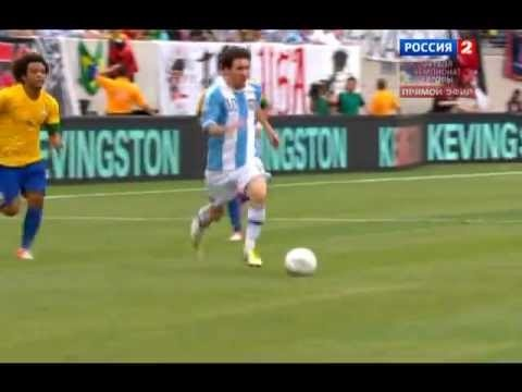 Messi Amazing gol vs Brazil.