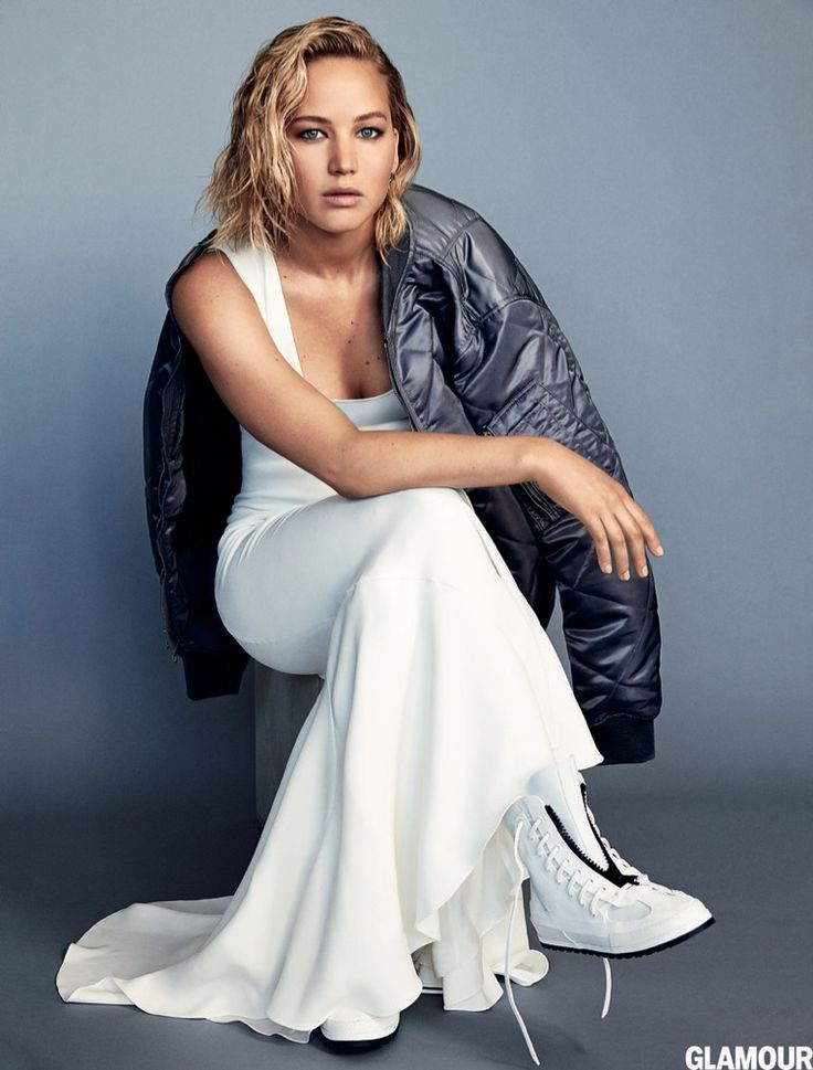 Jennifer tells the magazine that she is not trying to put on act for her public persona for Glamour Magazine February 2016 issue