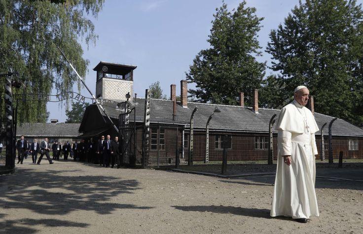 Pápež František navštívil koncentračný tábor v Osvienčime - svet.sme.sk