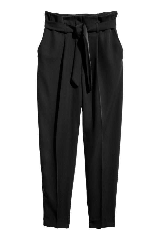 2812b84879 Pantalón de vestir - Negro - MUJER