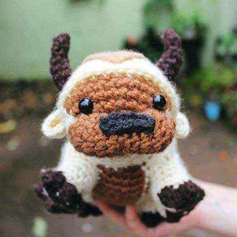 Appa • アッパ   #Shirokuma #amigurumi #crochet #tejido #hechoamano #Avatar #Appa #laleyendadeaang #avatarthelastairbender #bisonte #thelastairbender #bisontevolador #flyingbison #bison #handmade #cute #crocheting #crochetlove #crochetaddict #編みぐるみ #編み物 #あみぐるみ #アバター #伝説の少年アン #アッパ #空飛ぶバイソン #バイソン #ハンドメイド #手作り #かぎ針編み