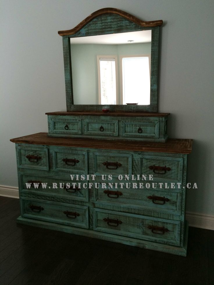 14 best images about Turquoise wash rustic bedroom furniture on ...