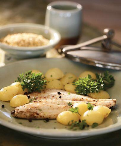 Filetti di ORATA alle Patate  #ricette #pesce #orata #patate #food #good