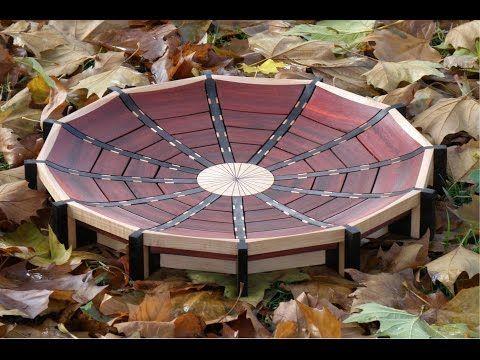 woodturning - Atrium bowl - YouTube
