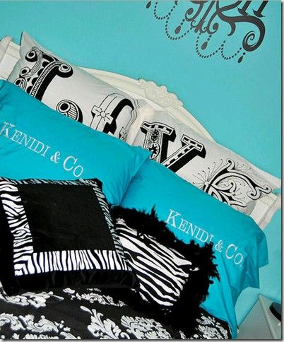 112 best images about Turquoise Bedroom Ideas on Pinterest