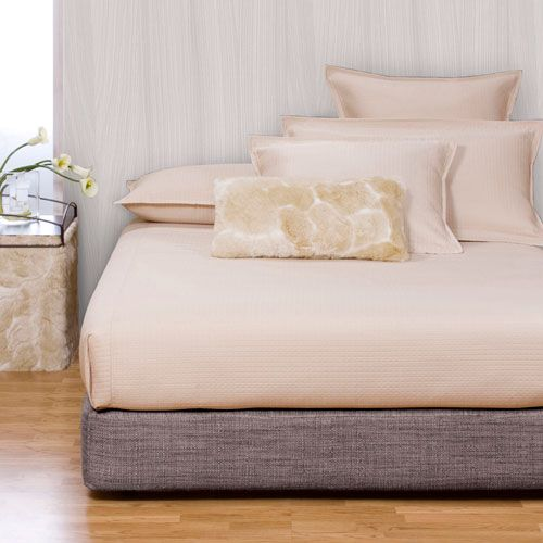 Coco Slate King Box spring Cover - a modern-looking alternative to a traditional bedskirt