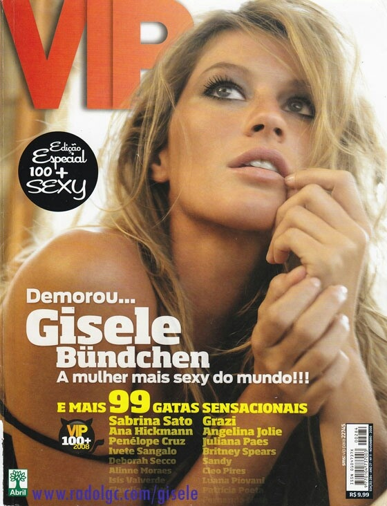 Gisele VIP: To Magazine, Gisele Vip, Revista Vip, Gisele Bundchen