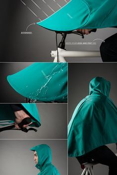SPACECRAFT — BONCHO, the bike poncho follow us ! spacecraft /...
