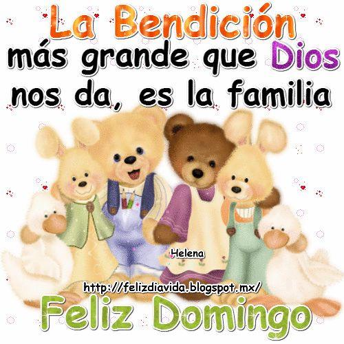 Declaro Bendición! Sobre ti y tu casa en el nombre de Jesús. Amén Feliz domingo Buenos días Feliz domingo Dios te Ben...