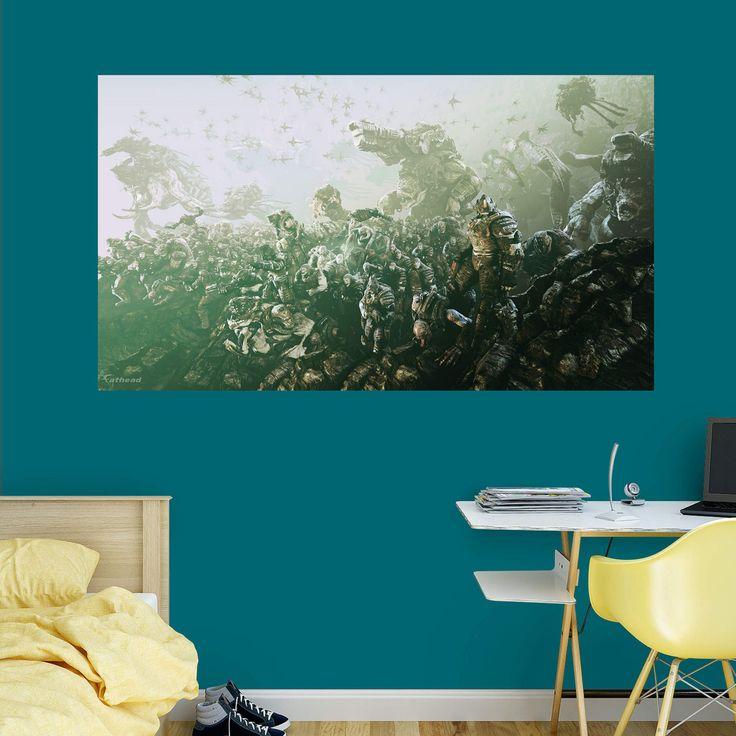 Fathead Gears Of War 3 Locust Horde Wall Mural - 1102-00007