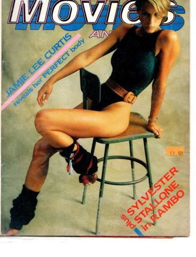 OLD MAGAZINE:PHOTOPLAY/1985 : JAMIE LEE CURTIS ON THE COVER