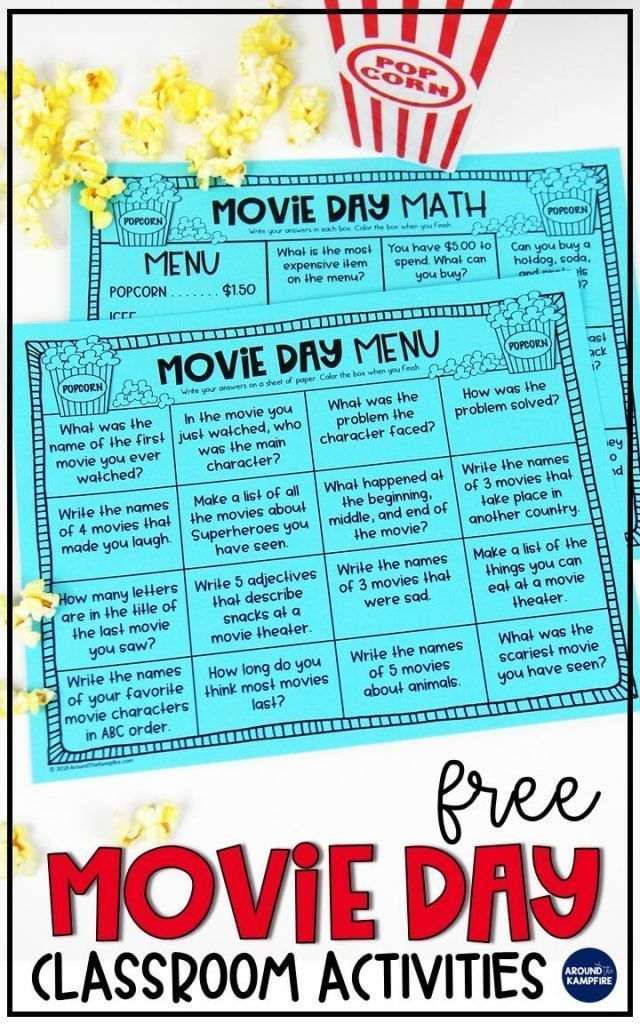 Classroom Movie Day Ideas Your Principal Will Love