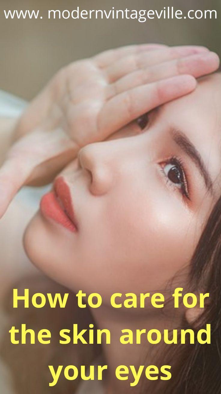 Three Most Important Steps For The Best Under Eye Skin Care Modern Vintage Ville Eye Skin Care Skin Care Steps Anti Aging Skin Care