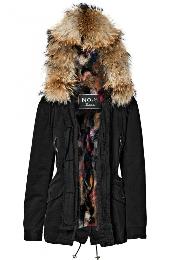 patchwork fur parka coat blonde no 8 personal style pinterest parka coat fur and coats. Black Bedroom Furniture Sets. Home Design Ideas
