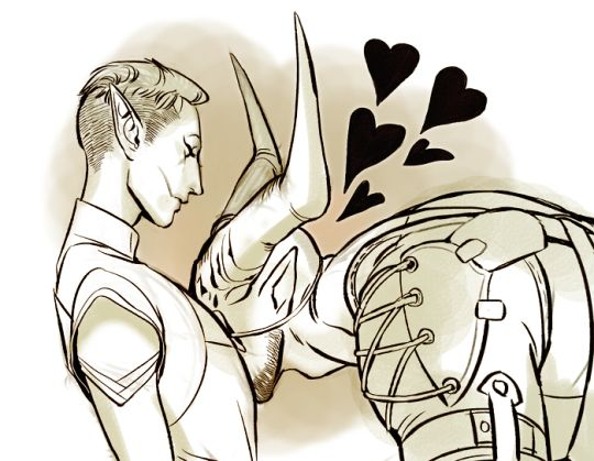 Iron bull inquisitor romance dragon age - kiss