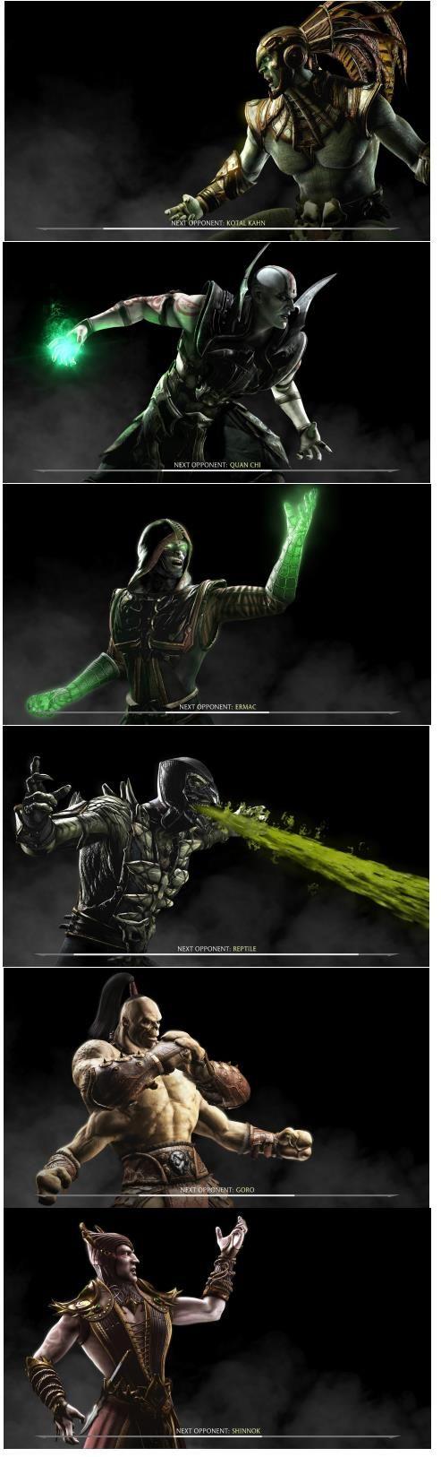 Mortal Kombat X Kast.