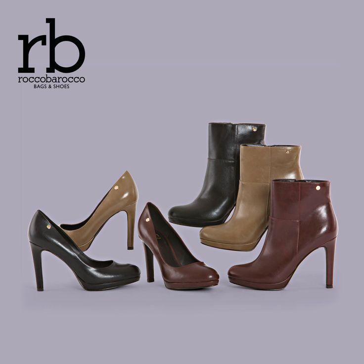 Dream di #rb by #roccobarocco in versione #decollete e #tronchetto. Una scelta di stile per i tuoi #outfit invernali. Provale da #Miriade! Cerca il negozio più vicino a te al http://www.miriadespa.it/stores.html #newcollection #fallwinter2016 #fashion #trendy #shopping #musthave #shoes #scarpe