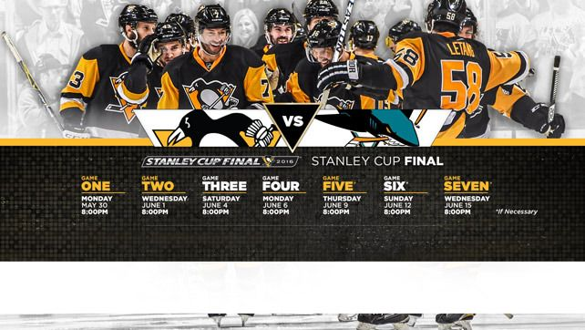Penguins Host Sharks in Game 1 of the 2016 Stanley Cup Final on Monday Night at 8 p.m. at CONSOL Energy Center - Pittsburgh Penguins - News