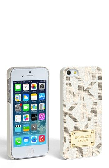 MICHAEL Michael Kors iPhone 5 Case | Nordstrom. Need an iphone just for this.