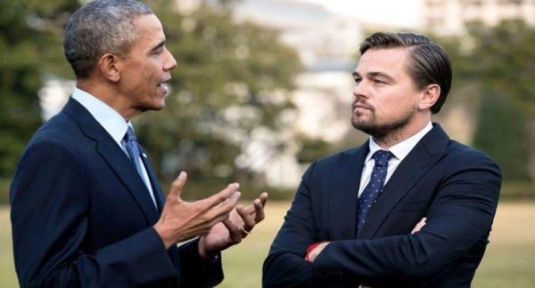 Obama & Leonardo Bahas Perubahan Iklim di Gedung Putih
