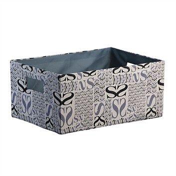 Storage Baskets & Boxes - Briscoes - Alsace Storage Box Black Large