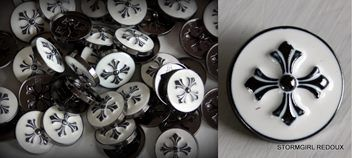Celtic Cross Metal Buttons | Trade Me