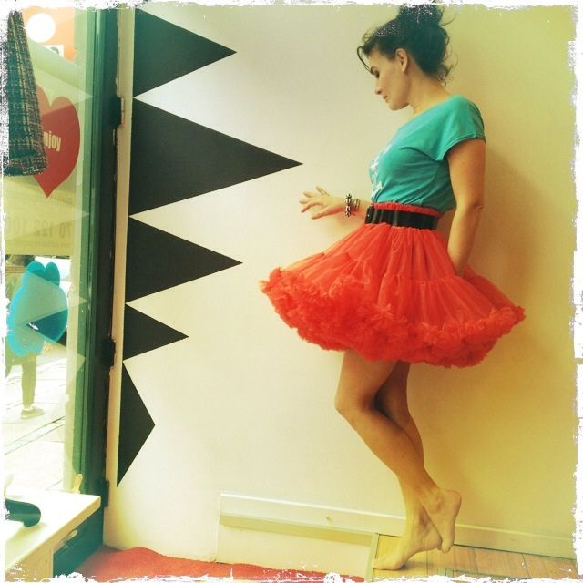 Summertime petticoat - at Dixie Grey´s