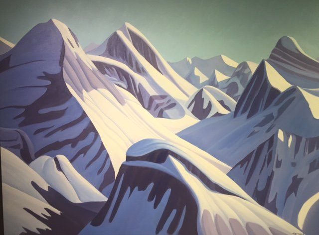 Ken Harrison - The Great Divide 36 x 48 Oil on canvas