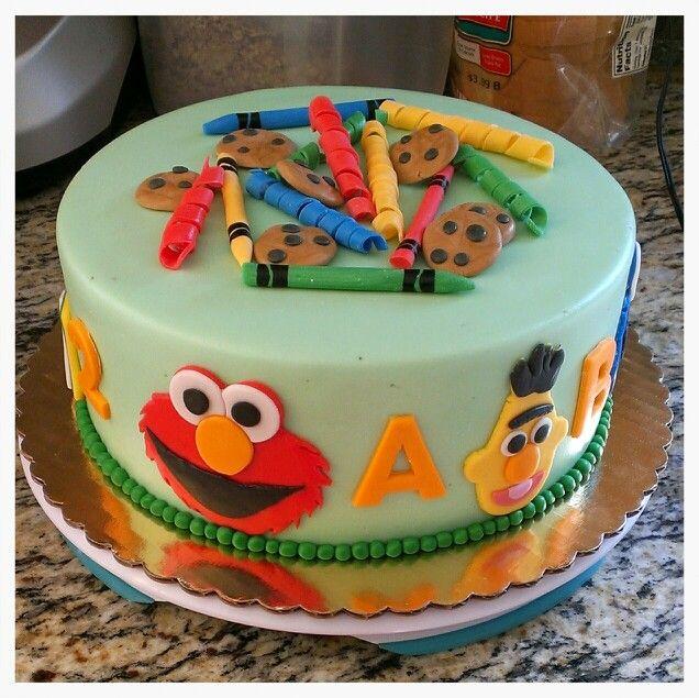 170 Best Sesame Street Cakes Images On Pinterest
