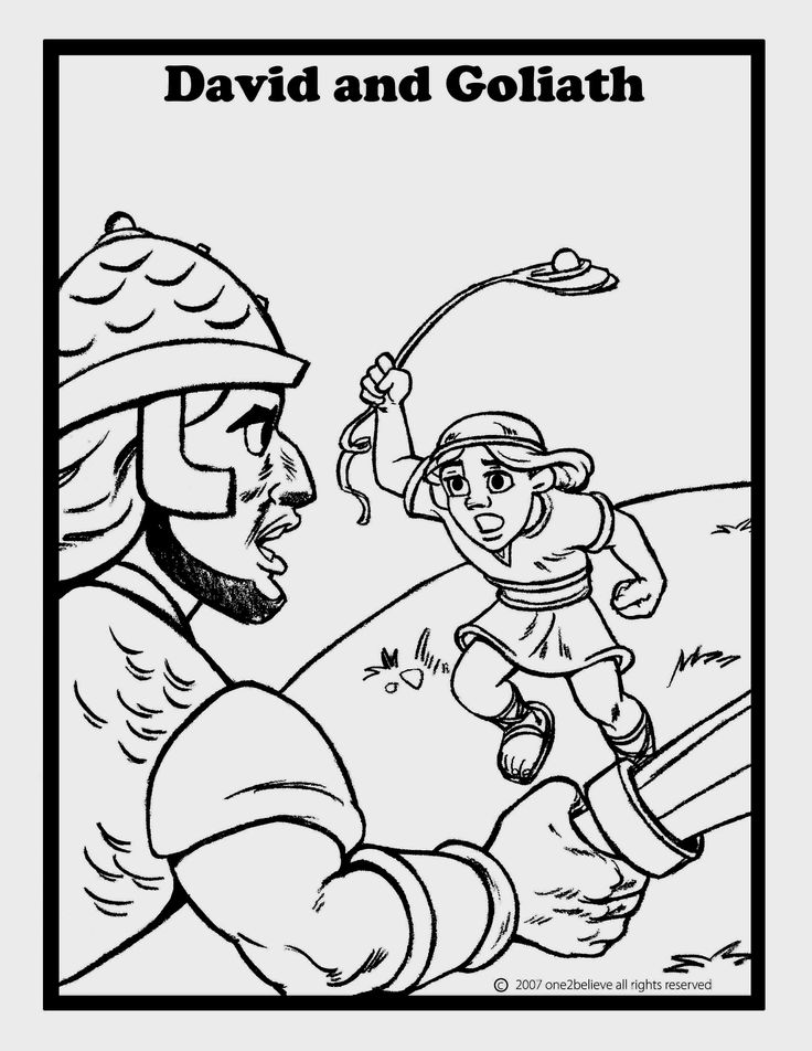 Bible Stories For Toddlers Coloring Pages