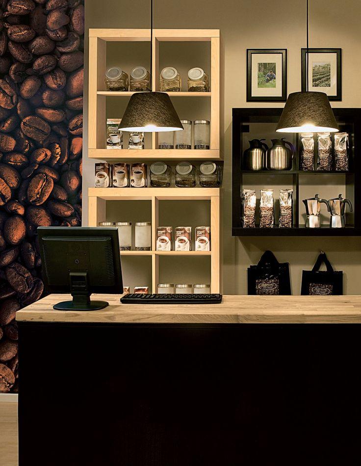 A coffee shop setup from IKEA Business. Here we see a