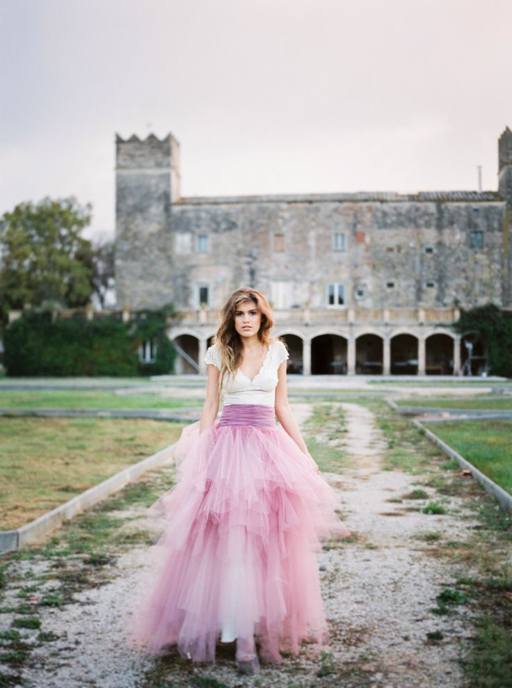 25 Real Brides Who Bucked Tradition With Colored WeddingDresses   StyleCaster