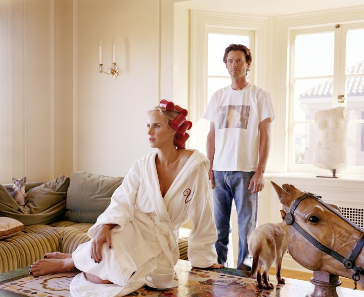 Larry Sultan Vanessa und bill getty 2007
