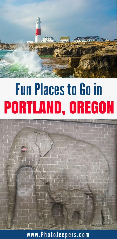 Fun Places to Go in Portland, Oregon