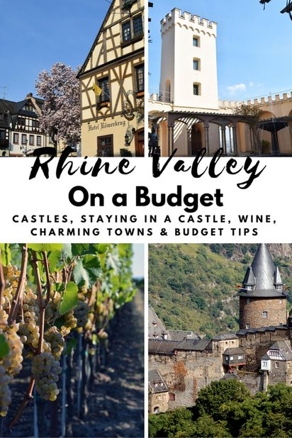 Rhine Valley on a Budget by Wanderlustingk. Find out how to visit this incredible German wine region on a budget, including staying IN a castle, what castles to visit, what towns to explore, and tasting the wine. All without a river cruise!