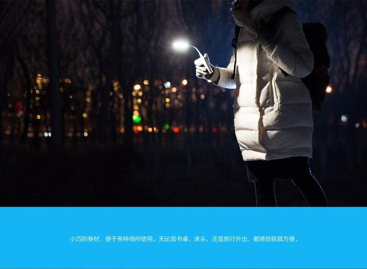 Оригинальный Xiaomi светодиодная лампа: Original Xiaomi USB Light Xiaomi LED Light with USB for Power bank/comupter Portable Shining Led Lamp