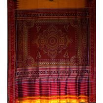 OSS5009: sambalpuri pasapalli silk sarees in cheap price
