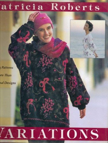 Variations More than 50 Knitting Patterns by Patricia Roberts 1991 jjandedt...