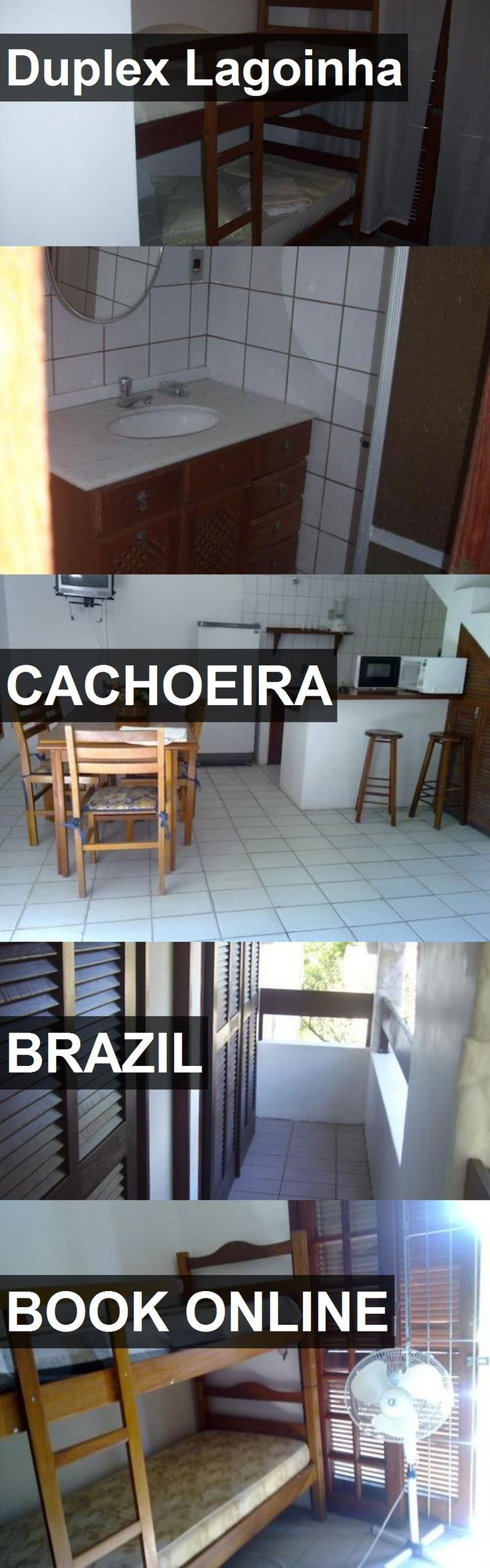 Hotel Duplex Lagoinha in Cachoeira, Brazil. For more information, photos, reviews and best prices please follow the link. #Brazil #Cachoeira #travel #vacation #hotel