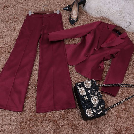 US $102.66 -- Европа и Соединенные Штаты Лето 2017 г. Новая мода Тонкий темперамент ПР костюм женские свободные штаны комплект из двух предметов купить на AliExpress