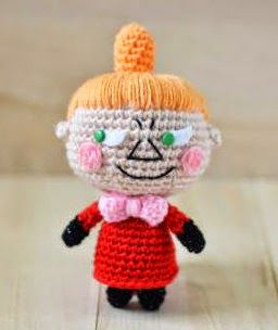 2000 Free Amigurumi Patterns: Little My from The Moomins free amigurumi pattern