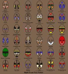 Illph Tribal Peoplepaint Ideasindian Face