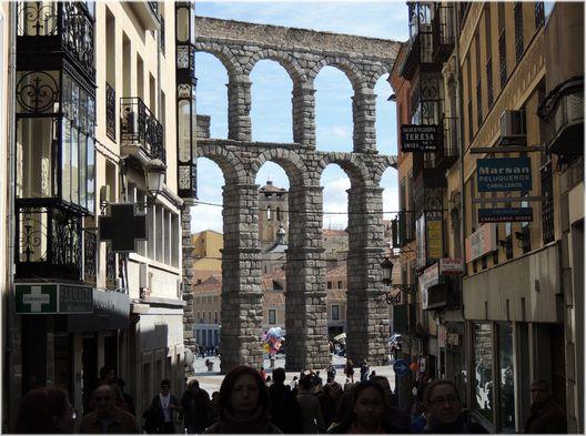 Volverán a restaurar el histórico Acueducto de Segovia
