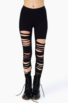 Nasty Gal  Clean Cut Leggings  $42.00