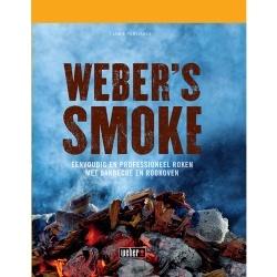 Weber's Smoke : Voedsel roken is helemaal in. Niets overtreft de smaak van heerlijk gerookt vlees, vis, kazen en zelfs noten. Weber's Smoke neemt je mee in de wereld van het roken van voedsel. Of je nu een bbq of rookoven hebt, dit boek verrijkt elk bbq feest!      • Nederlandse taal   • De beste rookgerechten   • Recepten met gerookt vis, gevogelte en vlees   • Ook recepten met gerookte noten, groenten en kazen   • Voor zowel rookoven als barbecue gebruikers!