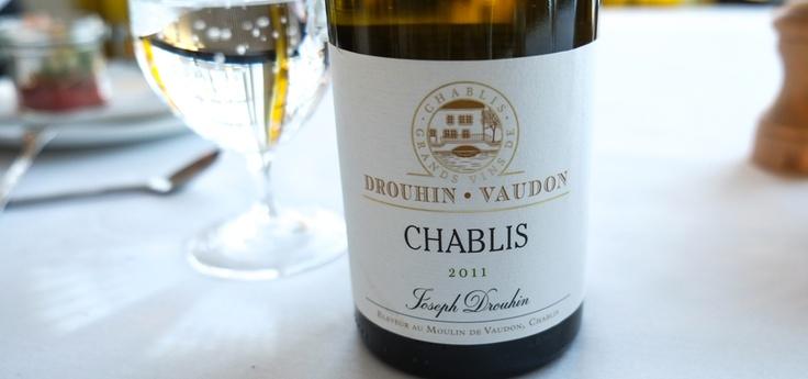 """Chablis 2011 """"Vaudon"""", fra Joseph Drouhin på Restaurant Varna"""
