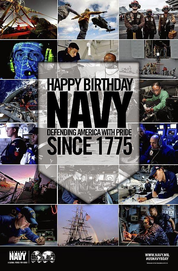 US Navy Birthday | EagleSpeak: United States Navy Birthday: Now Starting Its 240th Year