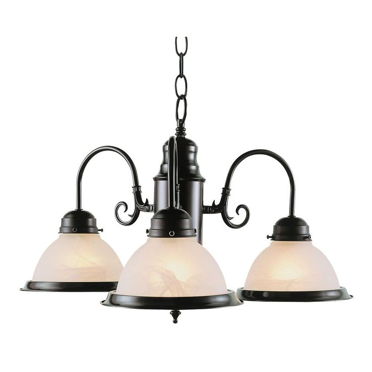 Bronze 3 Down Kitchen Chandelier regular price$80,suitable for vaulted ceilings.